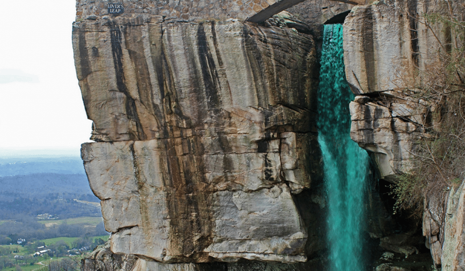 Rock City Will Turn Their Enchanting Waterfall Green For St Patrick's Day