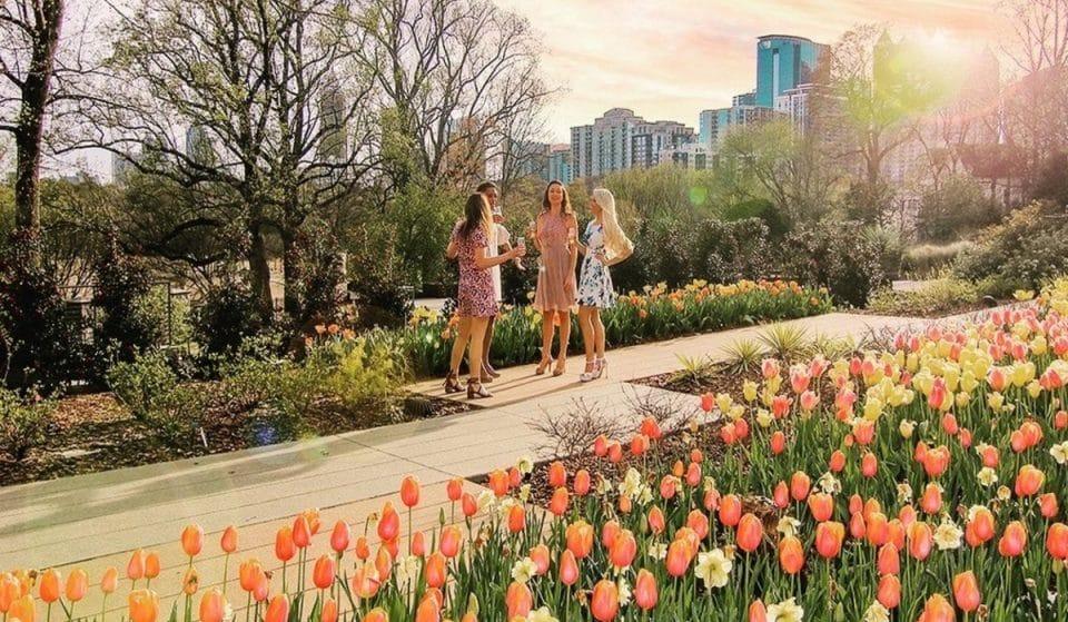 The Altanta Botanical Gardens To Welcome Spring With A Garden Party Extravaganza