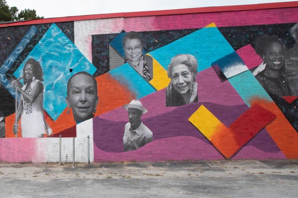 Girl Power Murals Around Atlanta Honoring Women's History And Female Empowerment