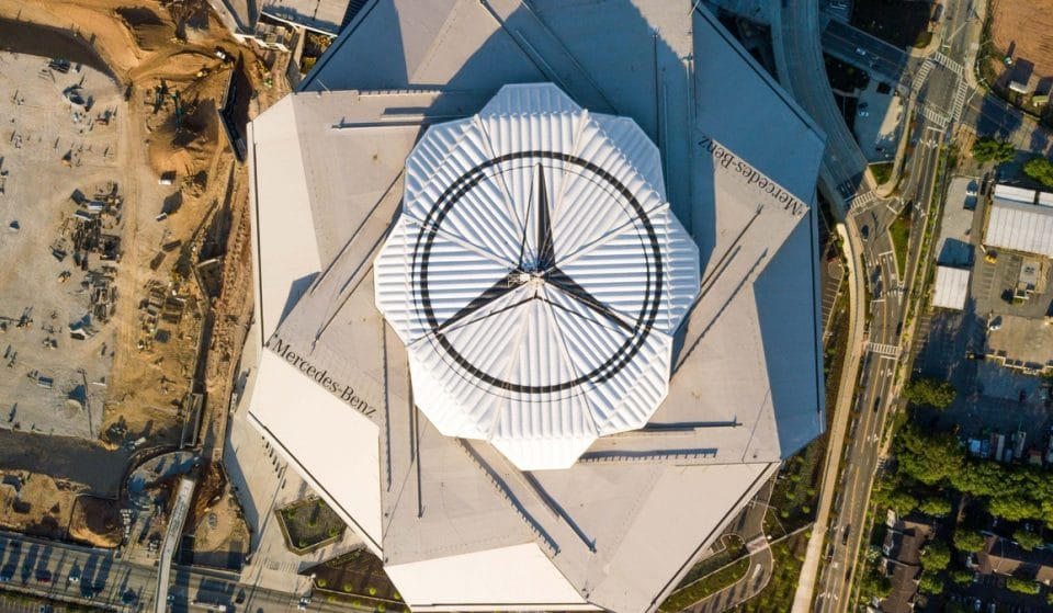 Atlanta's Mercedes-Benz Stadium To Become Mass Vaccination Site