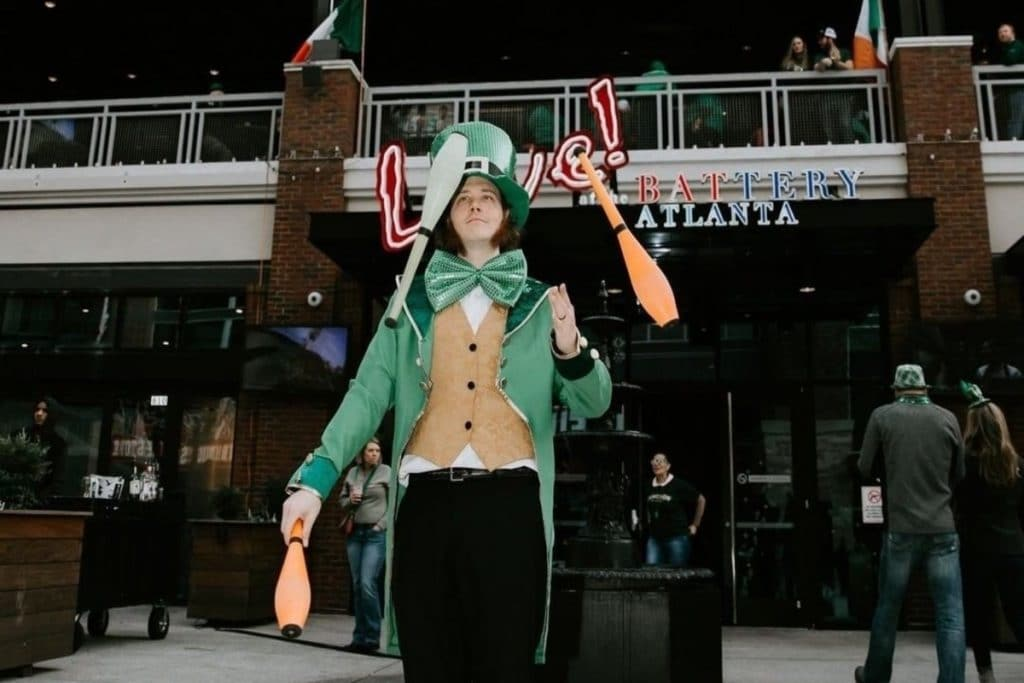 Green Beer, Live Music And Irish Fun At The Battery Atlanta's St Patrick's Day Live!