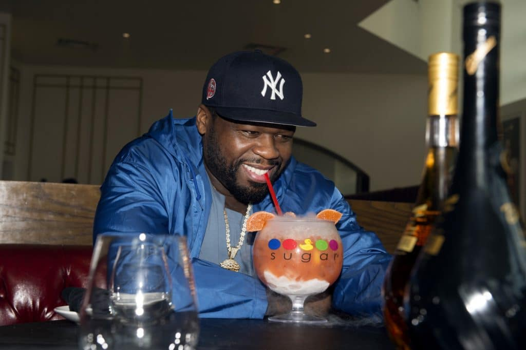 50 Cent Takes Atlanta To The Candy Shop With OTT Sugar Factory Cocktail Launch