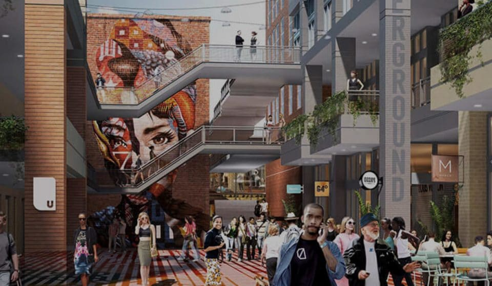 Underground Atlanta Is Undergoing A Swanky Makeover That's Set To Transform Five Points