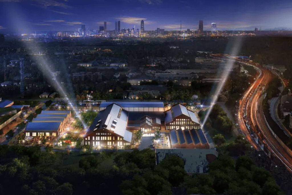 """Pullman Yard's Converted Railway """"Alcohol Park"""" Will Open This May"""