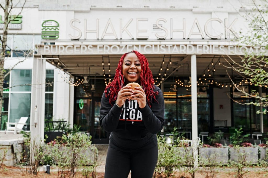 Shake Shack And Slutty Vegan Team Up For A Tasty, Pop-Up Style Collaboration