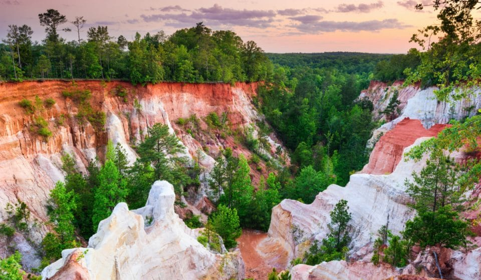 "This Amazing ""Natural Wonder"" In Georgia Is Actually Completely Unnatural"
