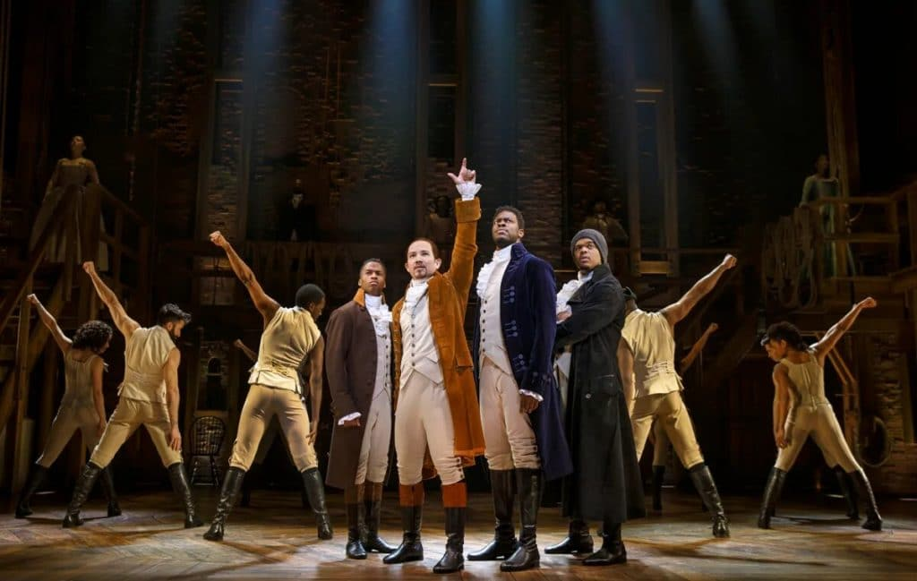 Hamilton Returns To Atlanta With Broadway Set To Take Over Fox Theatre