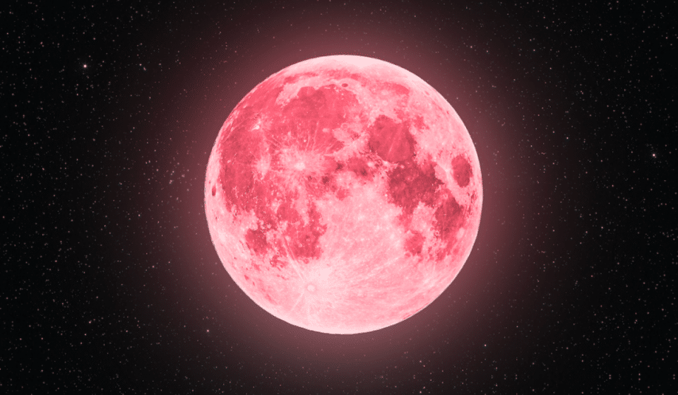 A 'Super Pink Moon' Will Shine Bright Over Atlanta Tonight