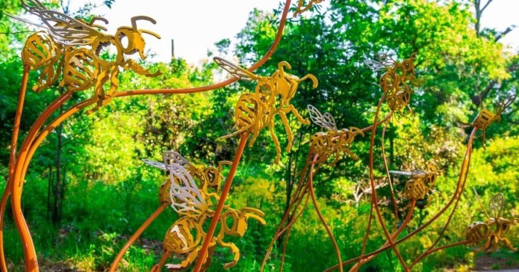 These Stunning Sculptures Have Taken Over Fernbank Museum's WildWoods