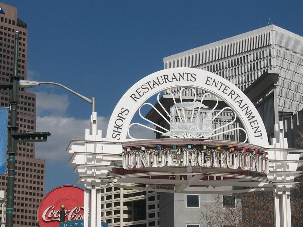 Underground Atlanta Will Be Getting A Brand New, 21-Stall Food Hall