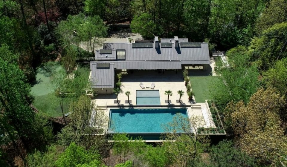 Unbelievable Atlantan Mansion Owned By Former Coca-Cola CEO Is Up For Sale!