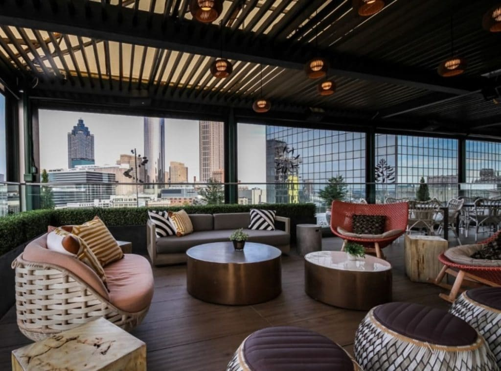 7 Incredible Rooftop Bars And Restaurants In Atlanta