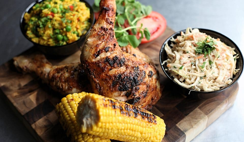 A New, Peri-Peri Fusion Food Court Is Opening In Sugar Hill This Week