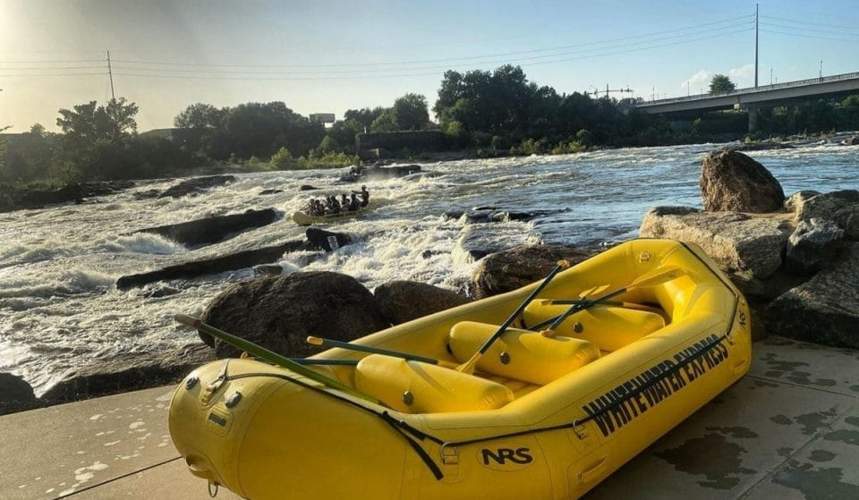 Take On The Chattahoochee With This Thrilling Whitewater Experience In Columbus