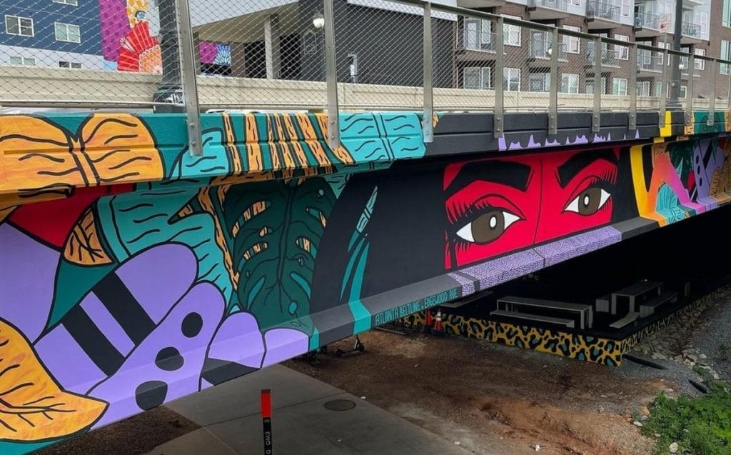 This Touching BeltLine Art Installation Takes Street Art To The Next Level