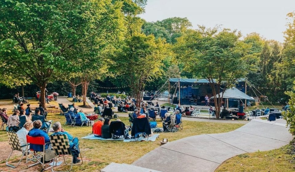 Enjoy Jazz On The Lawn At Callanwolde Fine Arts Center's Outdoor Spectacle