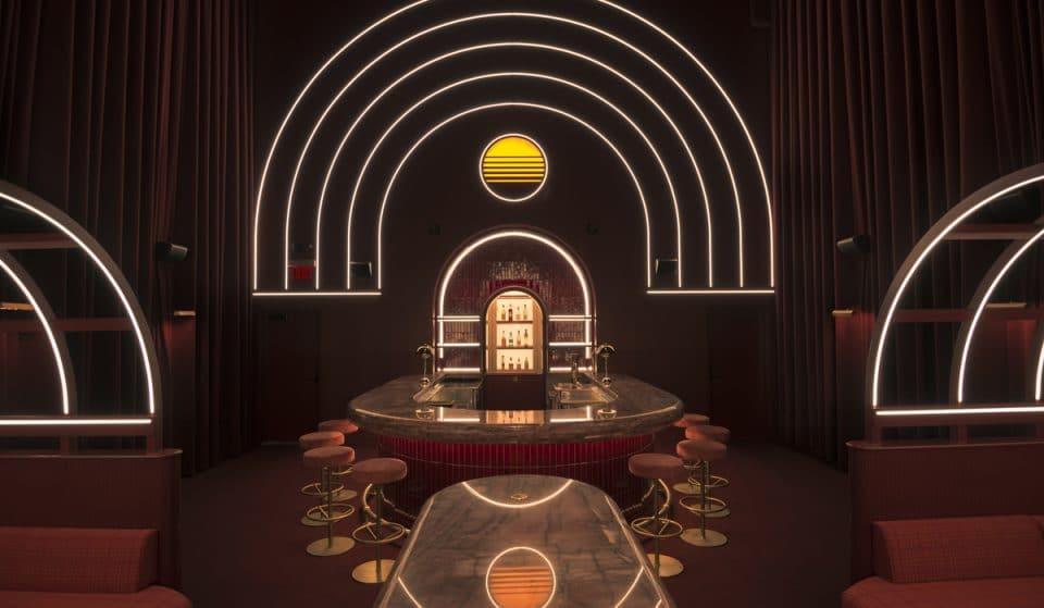 This Glamorous Hidden Speakeasy Opens In Atlanta's Hottest Food Hall