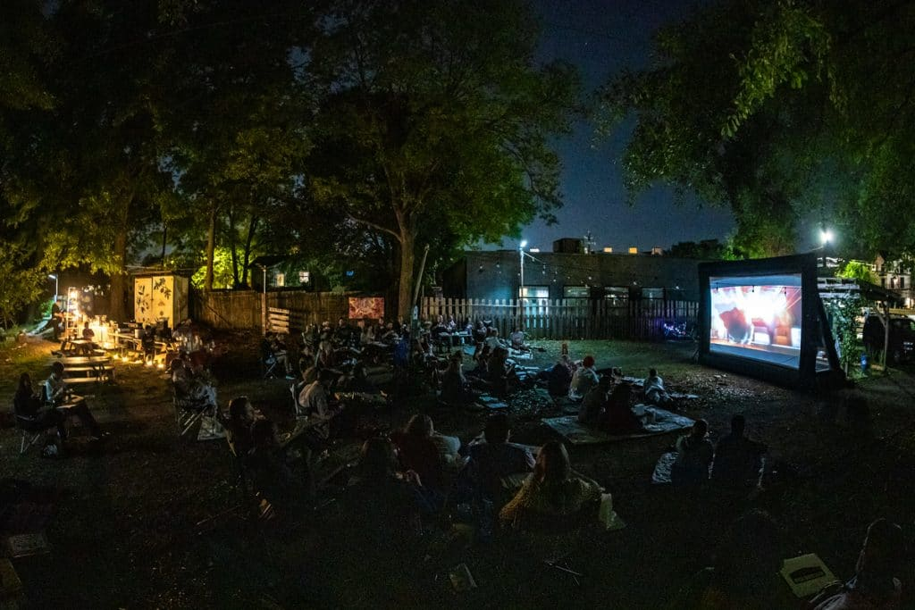 Taste The Movies At This Incredible Outdoor Eatavision Experience In Atlanta