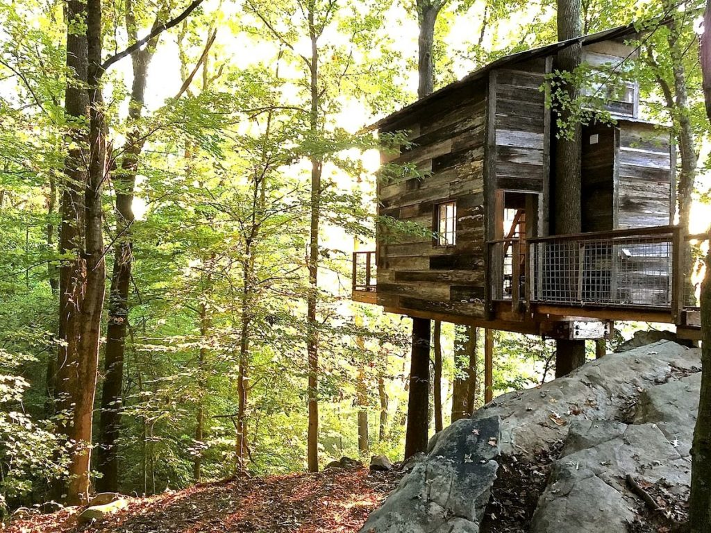 This Secluded Tree House Takes Glamping In Georgia To The Next Level