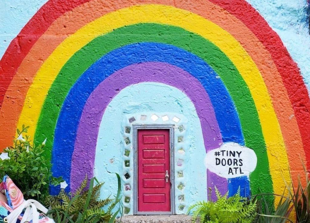 10 Tiny Doors In Atlanta That Are Redefining Public Art