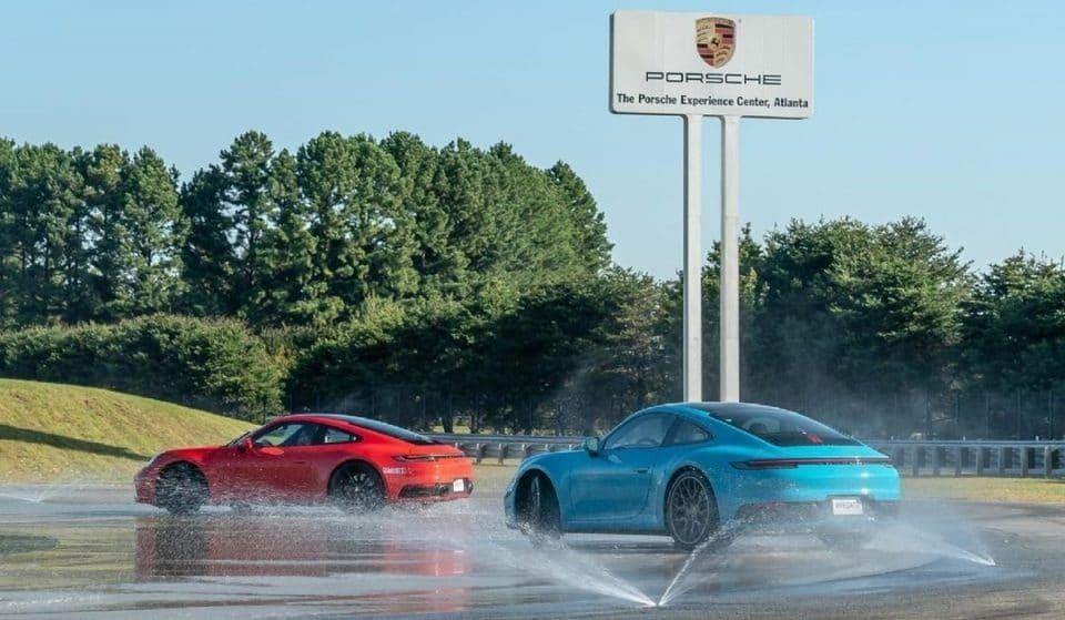 Test Drive A Porsche At The Thrilling Porsche Experience Center Atlanta