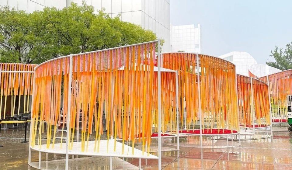 This Stunning Outdoor Art Installation Has Taken Over The HIGH