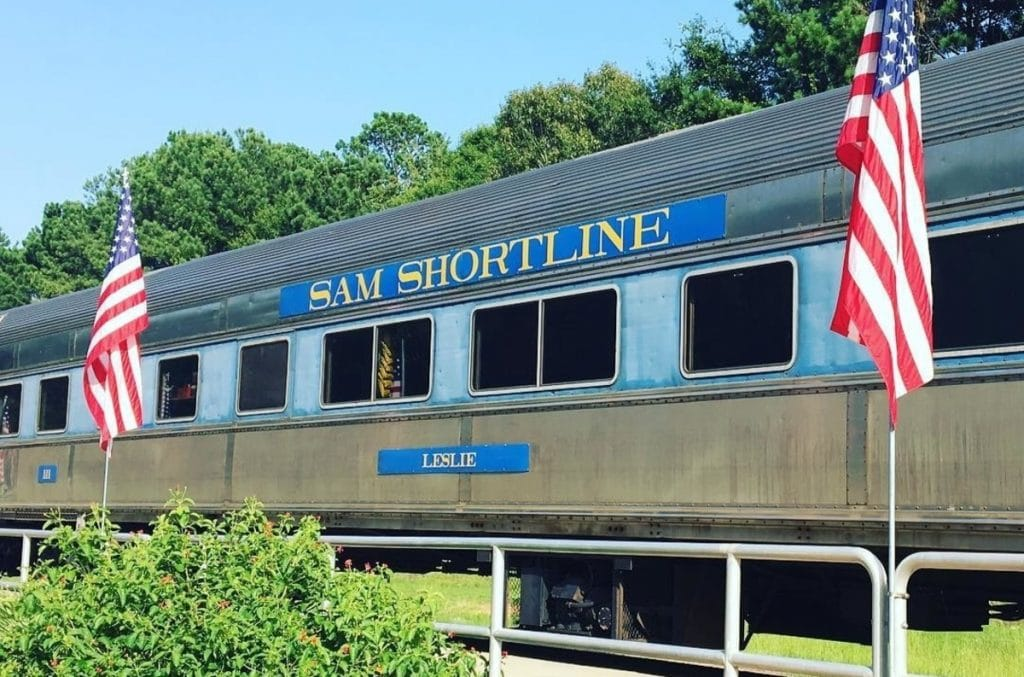 Go Back In Time And Take A Historic Ride On Georgia's SAM Shortline Railroad