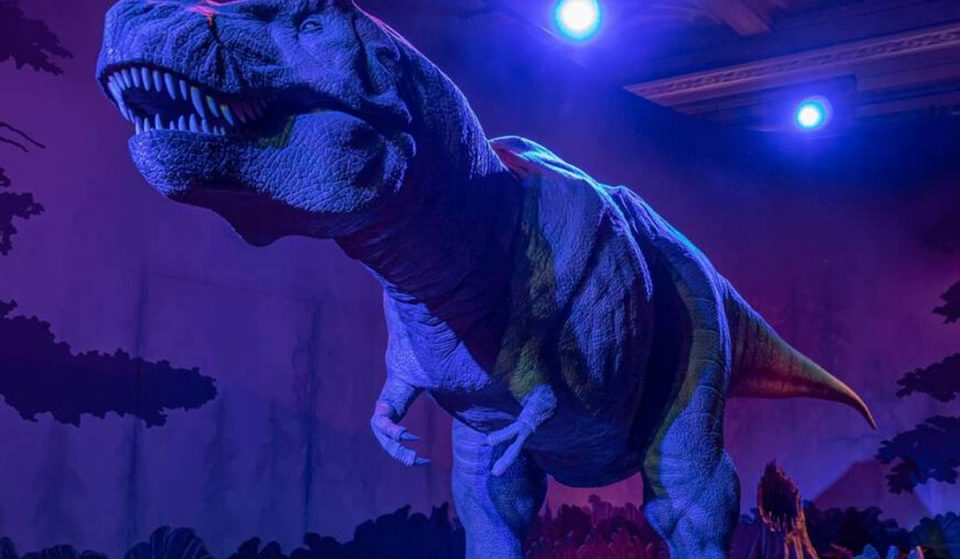 Come Face To Face With A Moving, Life-Sized T-rex At This Jurassic-Themed Park Coming To Atlanta