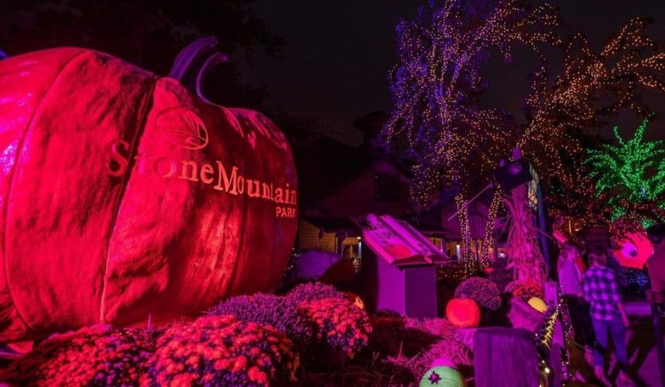 Stone Mountain Park's Luminous Pumpkin Festival Is Back & Brighter Than Ever!