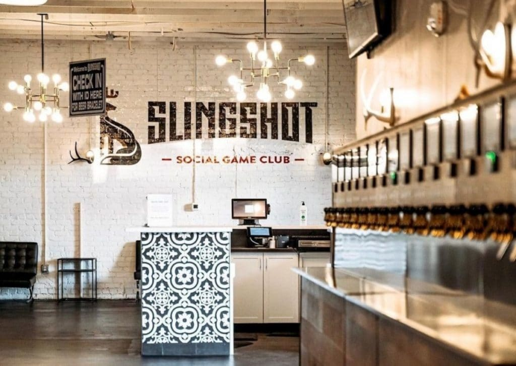 Slingshot Social Game Club And Tap Room To Open On Marietta Street