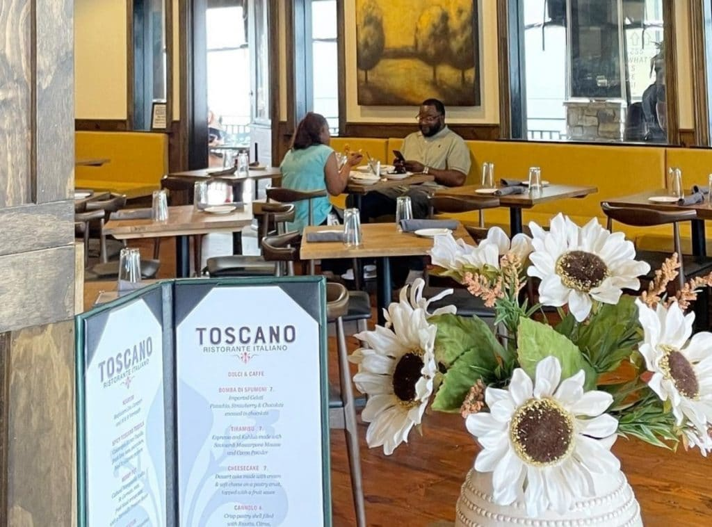 Savor The Flavors Of Tuscany At Atlantic Station's Toscano Ristorante Italiano