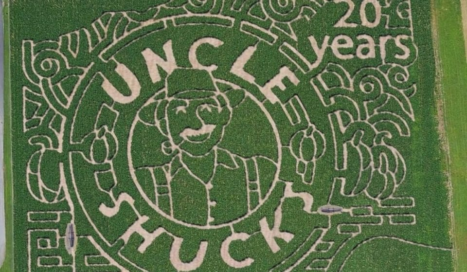 Get Completely Lost At This Incredible 15-Acre Corn Maze In Dawsonville