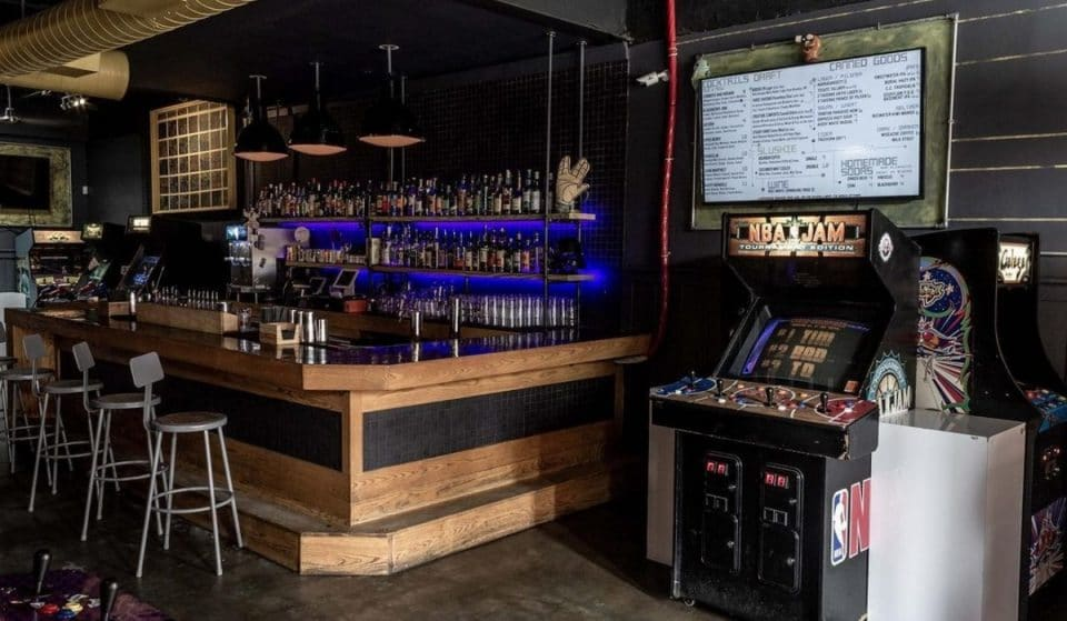 This Awesome Dive Bar In Atlanta Is Also An Old School Arcade • Joystick Gamebar