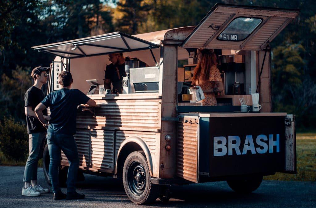 Converted Coffee Truck Sets Up Shop At Buckhead Village's Veranda