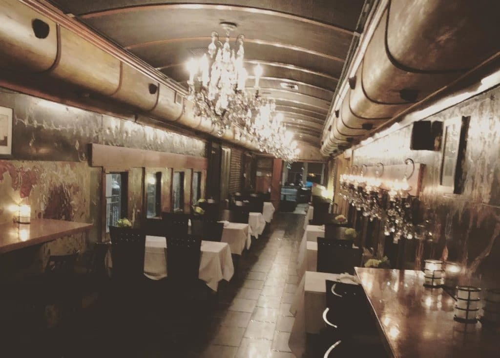 Wine And Dine In A Converted Historic Train At This Unique Restaurant In Atlanta